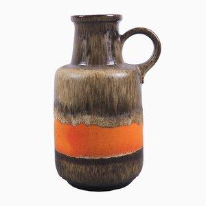 Jarrón Fat Lava vintage de cerámica de Scheurich, años 70