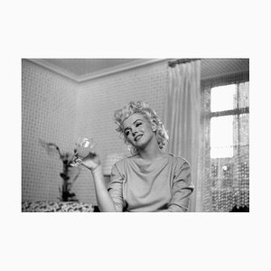 Marilyn Quiet Moment by Ed Feingersh