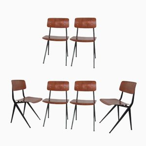 Mid-Century Industrial Chairs from Marko, Set of 6