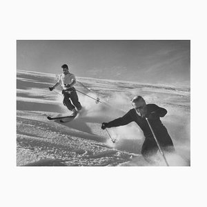 Stampa Joys of Skiing di Bert Hardy