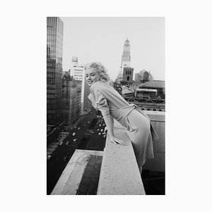 Marilyn On The Roof de Ed Feingersh