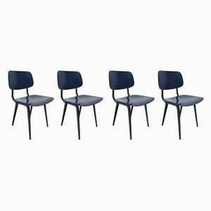 Revolt Dining Chairs by Friso Kramer for Ahrend De Cirkel, 1990s, Set of 4