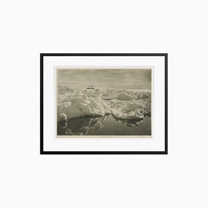 The Terra Nova in McMurdo Sound Print by Herbert George Ponting