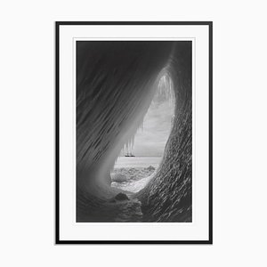 Ice Cavern Print by Herbert George Ponting