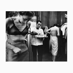 Backstage Print by Kurt Hutton