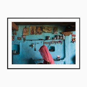 Stampa India Blue di Tim Graham