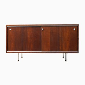 Rosewood Executive Office Group Sideboard by George Nelson for Herman Miller, 1960s