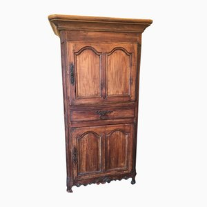 Antique Louis XV French Walnut Wardrobe