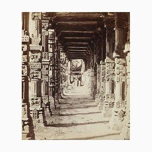 Affiche Temple Hindou par Felice Beato