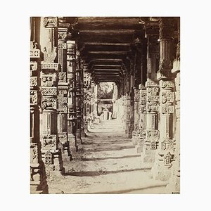Hindu Temple Print by Felice Beato