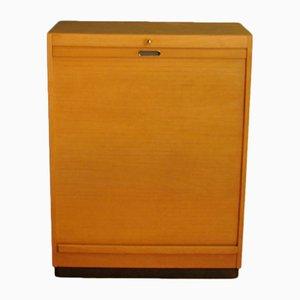 Wooden Roller Shutter Cabinet from Ekawerk Horn Lippe, 1960s