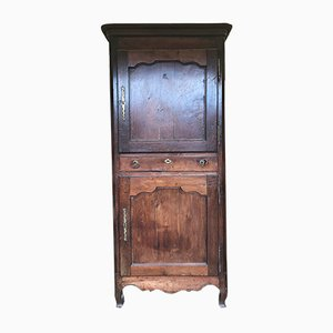 Vintage French Oak Wardrobe, 1930s