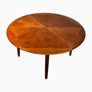 Tavolino da caffè in teak di H.W. Klein per Bramin, Danimarca, anni '60