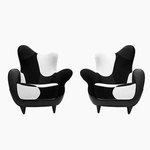 Italian Alessandra Lounge Chairs by Javier Mariscal for Moroso, 1995, Set of 2