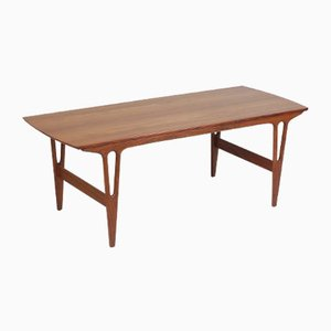 Danish Model 259 Rosewood Coffee Table by Erling Torvits for HM Møbler, 1970s