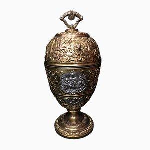 Antike französische Bronzevase