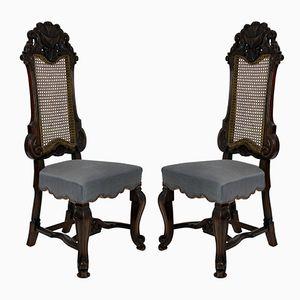Beistellstühle von George Trollope & Sons, 1860er, 2er Set