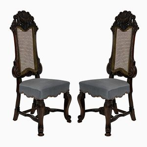 Hall Chairs from George Trollope & Sons, 1860s, Set of 2