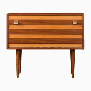 Mid-Century German Ash and Walnut Dresser, 1950s