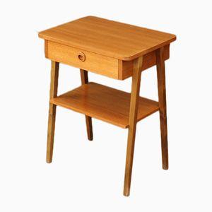Mid-Century Danish Teak Side Table, 1950s