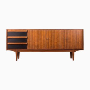 Mid-Century German Walnut Sideboard, 1950s