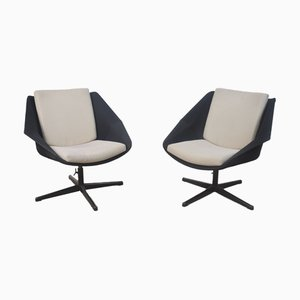 FM08 Swivel Chairs by Cees Braakman for Pastoe, 1950s, Set of 2