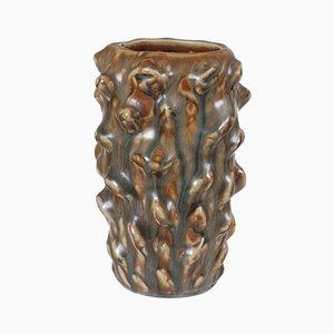 Jarrón vintage de cerámica de Axel Salto para Royal Copenhagen