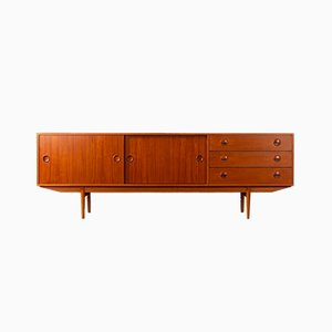 Credenza in teak di William Watting per Fristho, anni '60