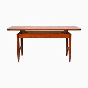 Table Basse Vintage Mid-Century en Teck de HMB Möbler, 1960s