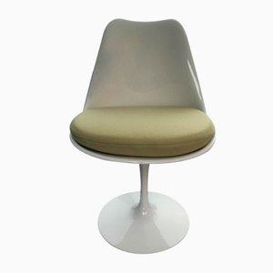 Silla de comedor Tulip de fibra de vidrio de Eero Saarinen para Knoll Inc., años 70