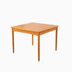 Moderner Esstisch aus Eiche im skandinavischen Stil von Poul Hundevad für Hundevad & Co., 1960er