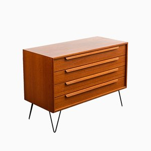 Mid-Century Teak Chest of Drawers, 1960s