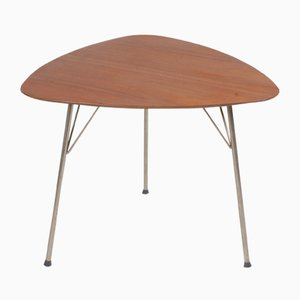 Tavolino in teak di Arne Jacobsen per Fritz Hansen, Danimarca, anni '60