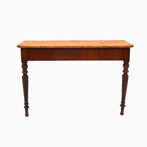 Table Console Rustique Antique en Pin