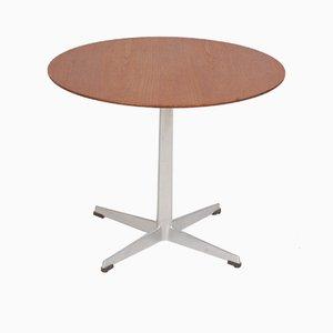 Table d'Appoint en Teck par Arne Jacobsen pour Fritz Hansen, 1960s