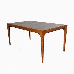 Scandinavian Modern Extendable Dining Table by Johannes Andersen for Uldum Møbelfabrik, 1960s