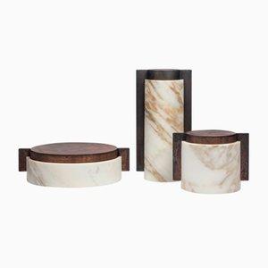Meccanismi Behälter von Gumdesign für La Casa di Pietra, 3er Set