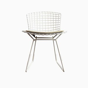 Metal Armchairs by Harry Bertoia for Knoll Inc., 1990s, Set of 6