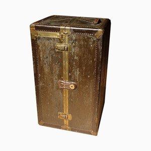 Schrankkoffer aus Rindsleder von DALE, 1920er