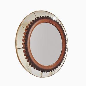 Mid-Century Italian Mirror, 1940s