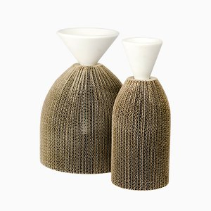 Avvolti Vases by Gumdesign for La Casa di Pietra, Set of 2