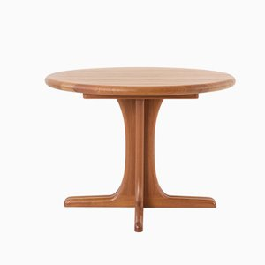 Scandinavian Modern Teak Dining Table from Dyrlund, 1970s