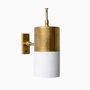 Mid-Century Italian Brass Sconce, 1960s