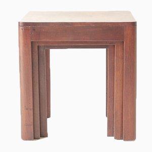 Tavolini ad incastro Art Déco, anni '30