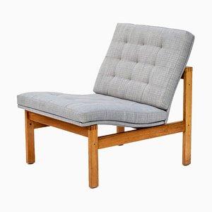 Oak Armchair by Ole Gjerløv-Knudsen & Torben Lind, 1960s