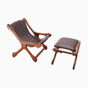 Sling Chair & Ottoman by Don Shoemaker for Señal, S.A., 1960s
