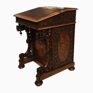 Antique Burr Walnut Secretaire