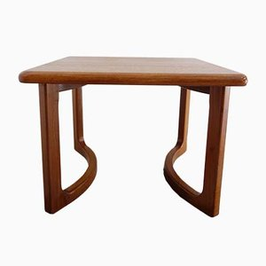 Table Basse Mid-Century en Teck par Niels Bach, Danemark, 1960s