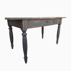 Rustikaler französischer Tisch aus Eiche & Tannenholz, 1930er