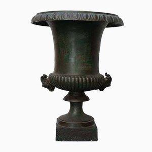 Pots de Jardin Antiques en Fonte, Set de 2